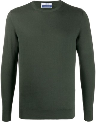 Fedeli Crew Neck Knitted Jumper