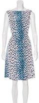 Christian Dior Cheetah Printed Sheath Dress w/ Tags