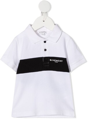 Givenchy Kids Logo Print Polo Shirt