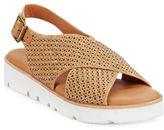 Gentle Souls Kiki Leather Platform Sandals