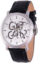 Disney Pirates of the Carribean Mens Black Strap Watch-Wds000371