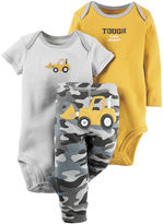 Carter's 3-pc. Short-Sleeve Bodysuits & Pants Set - Baby Boys newborn-24m