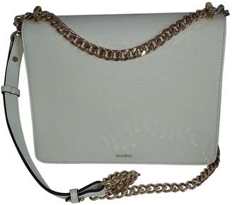 Mia Bag White Leather Handbags