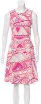 Emilio Pucci Wool A-Line Dress