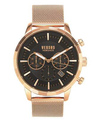Versace Eugene Rose Gold Watch