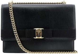 Salvatore Ferragamo Medium Vara Bow Front Flap Bag