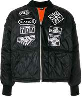 Kokon To Zai Scout patches quilted bomber jacket