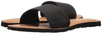 Volcom Simple Slide Sandals (Black) Women's Sandals