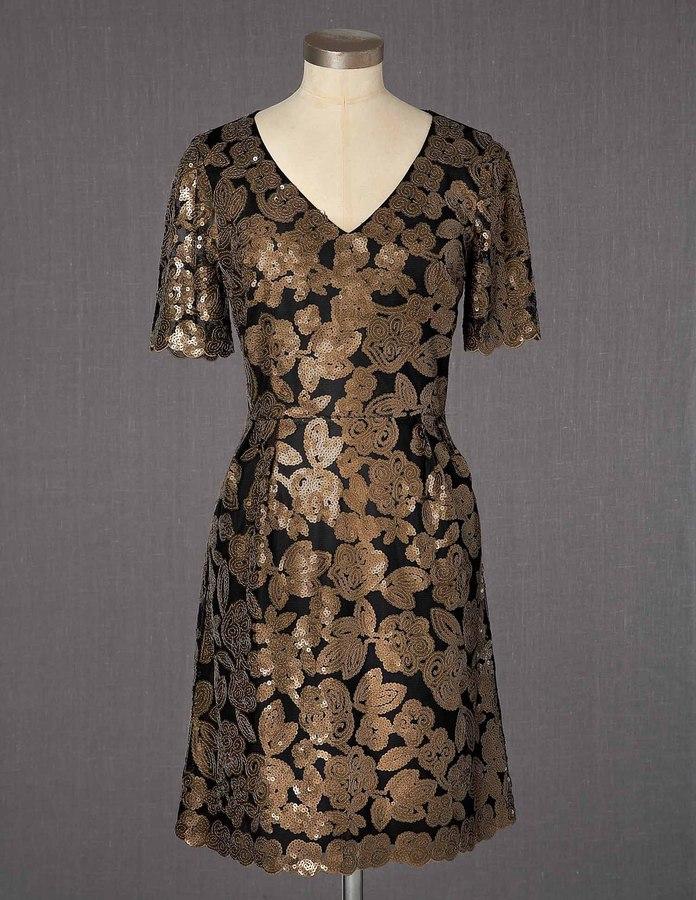Boden Sequin Pattern Dress