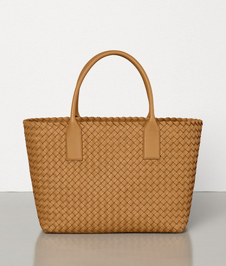 Bottega Veneta SMALL CABAT IN INTRECCIATO NAPPA