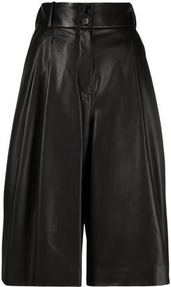Dolce & Gabbana Pleated High-Waisted Culottes