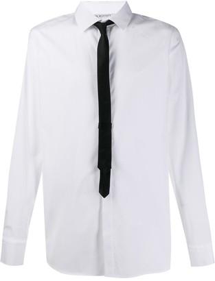Neil Barrett Contrasting Tie Shirt