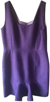 Christian Dior Purple Wool Dresses