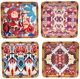 Tracy Porter Imperial Bengal 4-pc. Appetizer Plate Set