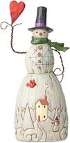 Jim Shore Folklore Snowman With Heart Figurine