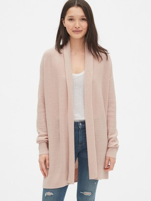 Gap True Soft Shawl Collar Cardigan Sweater