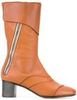 Chloé 'Lexie' mid-calf boots - women - Calf Leather/Leather - 37