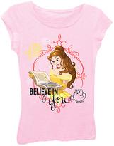 Freeze Light Pink Disney Princess 'Believe in You' Tee - Toddler & Girls