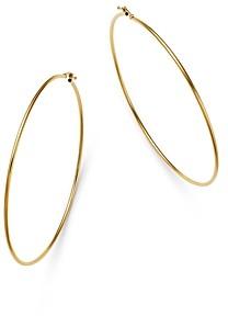 Moon & Meadow Slim Endless Hoop Earrings in 14K Yellow Gold - 100% Exclusive