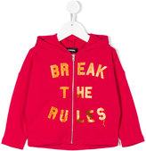 Diesel Break The Rules print hoodie
