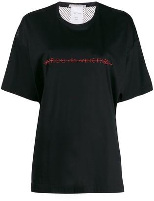 Marco De Vincenzo rhinestone embelished T-shirt