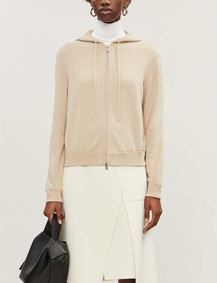 Theory Zip-up cashmere hoody