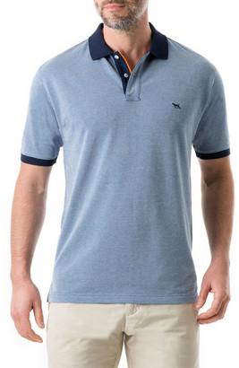 Rodd & Gunn Men's Chadbury Polo Shirt with Contrast Collar & Cuffs