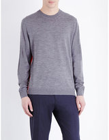 Ps By Paul Smith Crew Neck Merino Wool Jumper