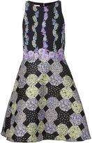 Giamba floral print skater dress