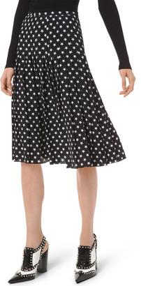 Michael Kors Stars Pleated Skirt