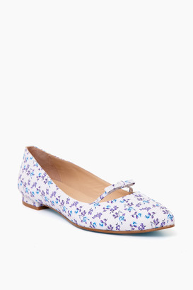 French Sole Floral Kate Flats