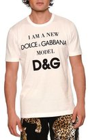 Dolce & Gabbana Model Jersey T-Shirt