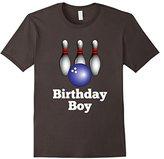 Bowling Birthday Party Boy Kids Shirt