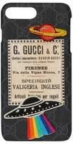 Gucci Travel Iphone 7 Plus Case - Black