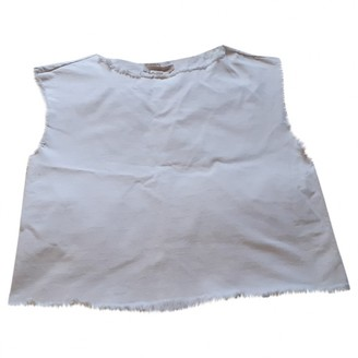 Marc by Marc Jacobs White Cotton Top for Women