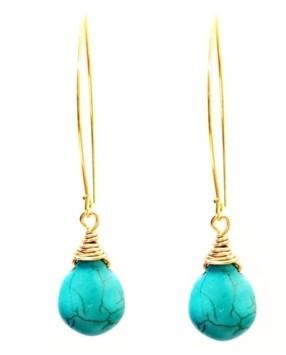 Minu Jewels Turquoise Earrings