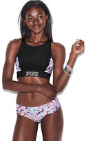 PINK Ultimate Reversible High-Neck Sports Bra