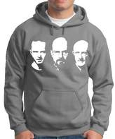 Walter Touchlines Men's Breaking Bad Hoodie with Jesse / and Mike Faces Size:S