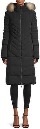 Pajar Fox Fur Hooded Puffer Coat