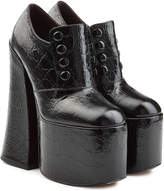 Marc Jacobs Leather Platforms