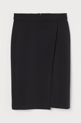 H&M Wrapover pencil skirt