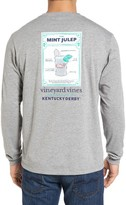 Vineyard Vines Men's Mint Julep Recipe Graphic T-Shirt