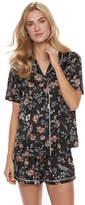 Apt. 9 Women's Pajamas: Soft Moonlight Satin Top & Shorts 2-Piece PJ Set