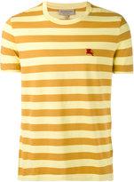 Burberry tonal striped T-shirt - men - Cotton - XS