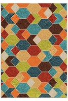 Orian Rugs Spectacle Promise Indoor/Outdoor Area Rug - Multicolor
