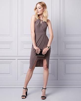Le Château Knit Wrap-Like Dress