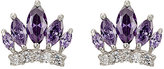 Fallon WOMEN'S MONARCH CROWN STUDS