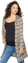 A Pea in the Pod Splendid Hooded Maternity Cardigan