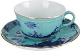 Richard Ginori 1735 - Oriente Italiano Iris Teacup & Saucer
