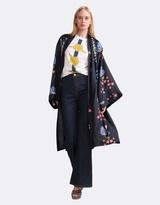 Cynthia Rowley Silk Printed Kimono